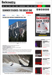 The Great One in Backcountry Magazine