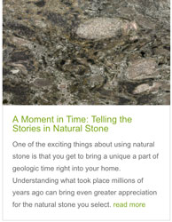 Screen shot from A Moment in Time article on UseNaturalStone.com