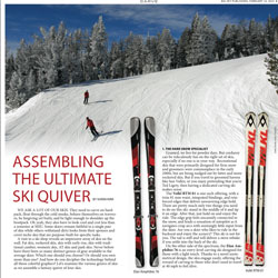 Assembling the Ultimate Ski Quiver