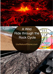Screen shot from rock cycle article at usenaturalstone.com