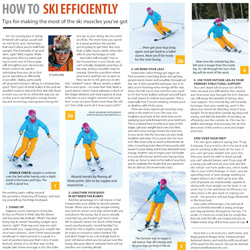 Skiing Efficiently, Carve 2015